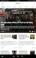 Screenshot of Zing News
