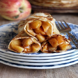 Pumpkin Spiced Apple Crepes