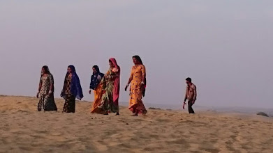 Photo: rajasthan is a desert state, you know? (desert thar) ~ http://jarogruber.blogspot.de/2016/02/northern-india.html