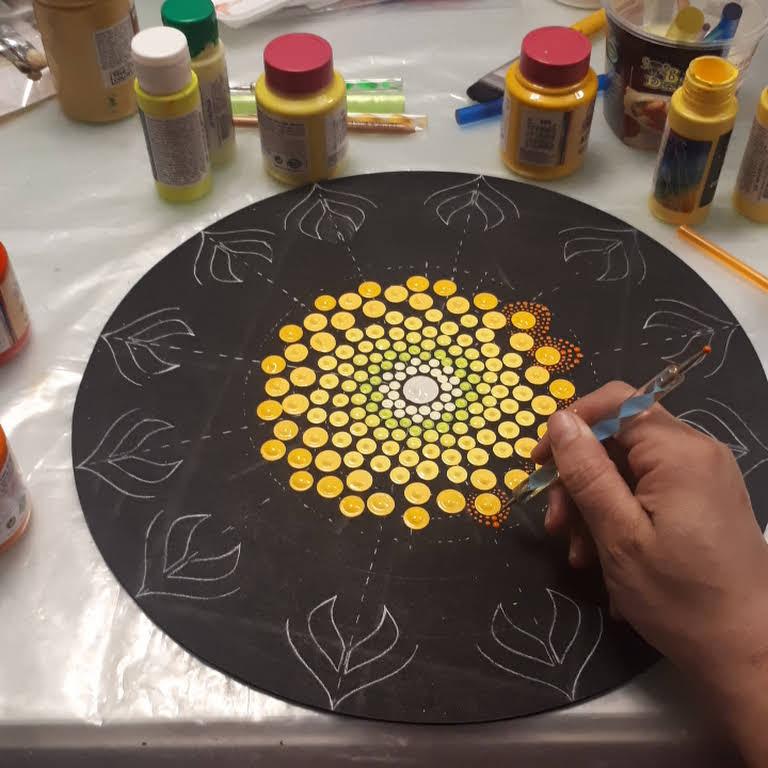 Vida em Cores Mandalas - Artesanato