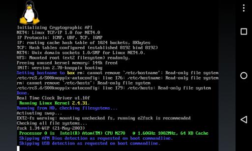 Limbo PC Emulator QEMU ARM x86 2.10.0-x86 screenshots 2