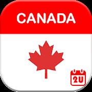 Calendar2U: Canada Calendar 2019 - 2020