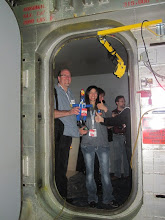 Photo: Entering the wind tunnel!  we are now transonic, baby!