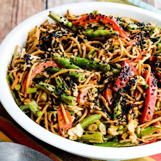 Whole Wheat Sesame Noodles with Spicy Peanut Sauce Recipe