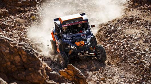 Hinojo se supera en la segunda etapa del Dakar 2020, finalizando en 2ª posición