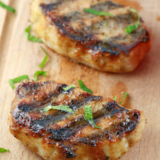 Grilled Pork Chops with Honey Mustard Glaze Recipe