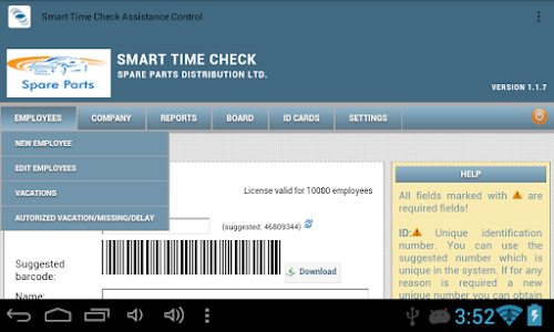 Time Check Assistance Control screenshot 3