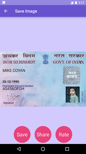 Fake Id Card Maker app (apk) free download for Android/PC