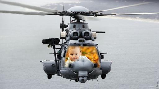 헬리콥터 사진 프레임
