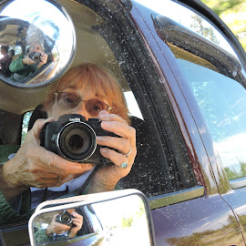 Selfie by Mary Gallo - People Portraits of Women ( selfie, self portrait, my camera,  )