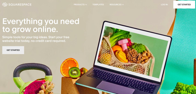best platform for blogging squarespace