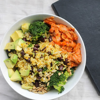 Vegan Buddha Bowls Using Left-Overs