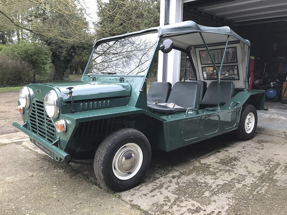 Morris Mini Moke Hire Hertfordshire
