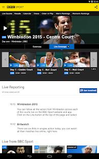 BBC Sport - screenshot thumbnail