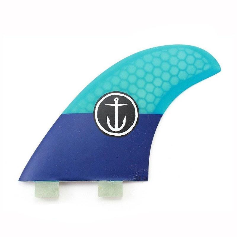 CAPTAIN FIN - CLASSIC QUAD (TWIN TAB) Surf Fins