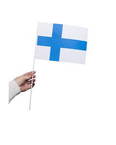 Pappersflagga, Finland