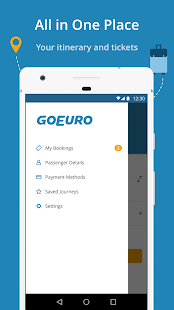 GoEuro: trains, buses, flights- screenshot thumbnail