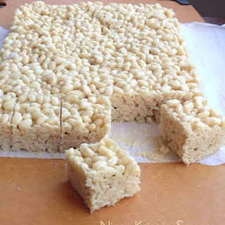 How to Make Healthy Rice Krispie Treats.