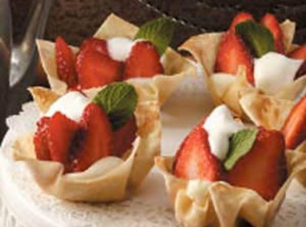 Strawberry-cheesecake Tartlets Recipe