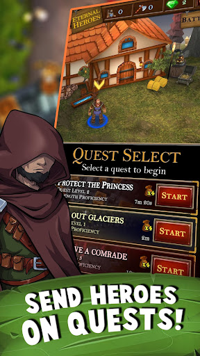 Castle Fusion Idle Clicker apkdebit screenshots 2