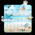 Beach Blue Keyboard icon