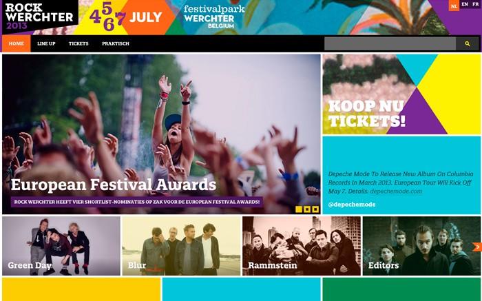 Photo: Site of the Day 20 December 2012 http://www.awwwards.com/web-design-awards/rock-werchter