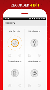 All in 1 Recorder -Call/Voice/Screen/Video App Download For Android 8