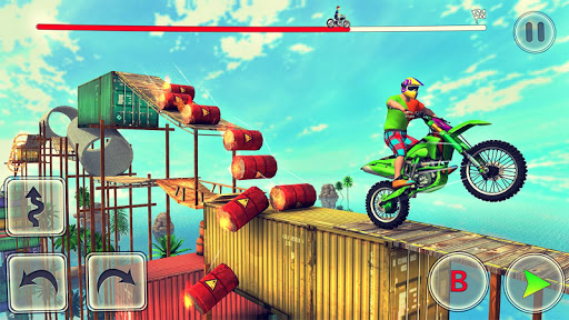 Bike Stunt Race Master 3d Racing - Free Games 2020 screenshots 1