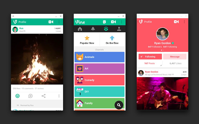 Vine chrome web store vine is the best way to see and share life in motion create short beautiful looping videos in a simple and fun way for your ccuart Gallery