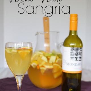 Winter White Wine Sangria.