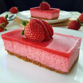 Strawberry Mousse Cake Recipes