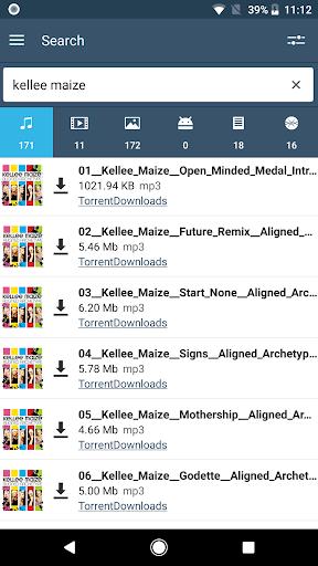 FrostWire: Torrent Downloader & Music Player 2.1.1 screenshots 2
