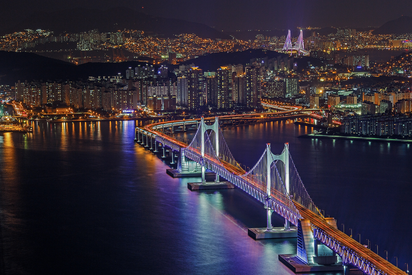 city of busan bridges