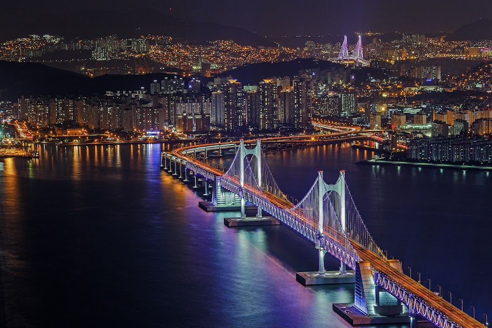 city of busan bridges