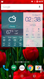 Multifunctional Weather Clock screenshot 0