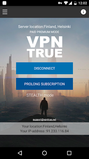 VPN TRUE { Free proxy+ }