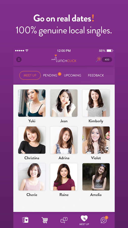 LunchClick - Free Dating App- screenshot