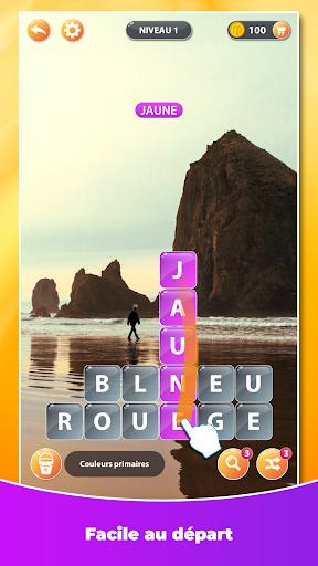 Surf des Mots - Mots Croisés & Jeu de Mots  captures d'écran 1