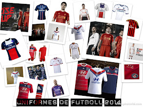 Photo: nuevos uniformes de futbol 2014  www.deporteselpadrino.com