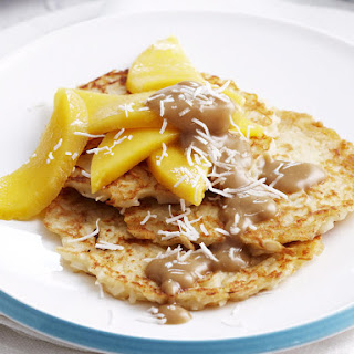 Coconut and Rice Pancakes.