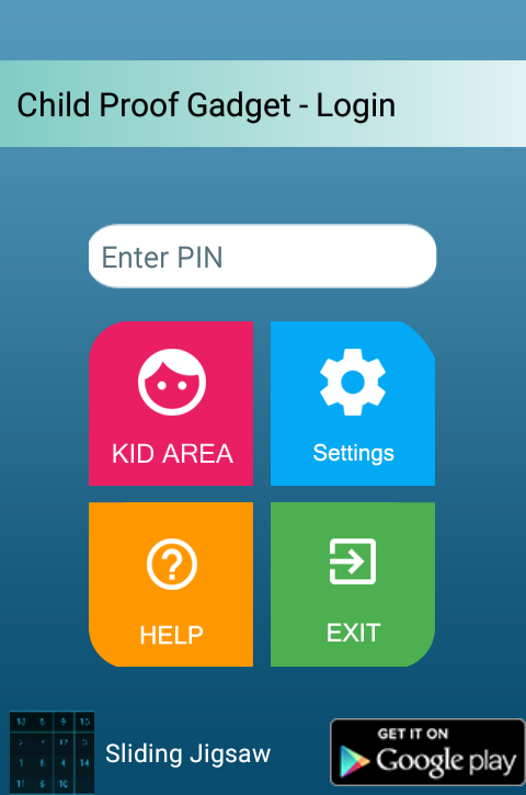 Child Proof Gadget-Child Lock- screenshot