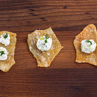 Chicken Skin Canapés (Lemon and Thyme Roast Chicken).
