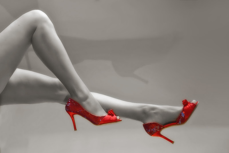 Red Shoes di Patrix