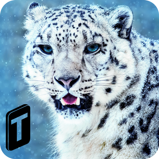 Forest Snow Leopard Sim