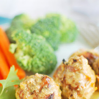 Thai Pork and Veggie Meatballs.