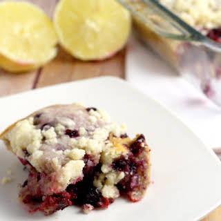 Blueberry Lemon Coffee Cake.