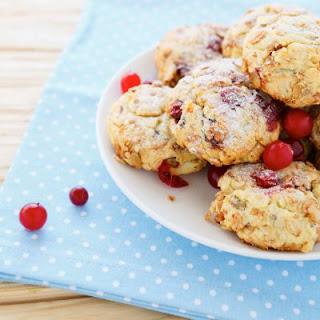 Sugar-Free Cranberry Walnut Cookies