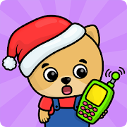 Baby phone kids games - animal sounds for toddlers
