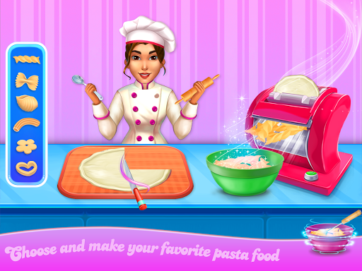 Make pasta cooking kitchen apktram screenshots 3