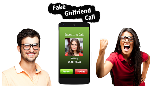 Fake GirlFriend Calling : Prank app apktram screenshots 1
